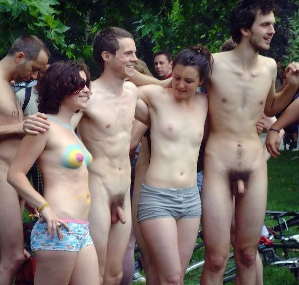 Maiden nudists and exhibitionists on..